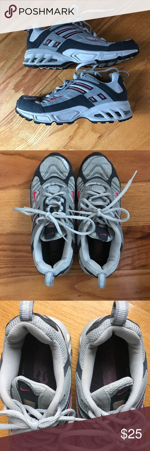Women's Nike Air Trail Sneakers Nike Air Trail Sneakers with stone shield bottom, size 8. Great condition , inside foot label a little worn out (see pic) other than that they are in great shape & great buy!!! Nike Shoes Sneakers