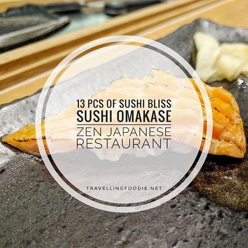 Sushi Omakase at Zen Japanese Restaurant - Markham, Ontario