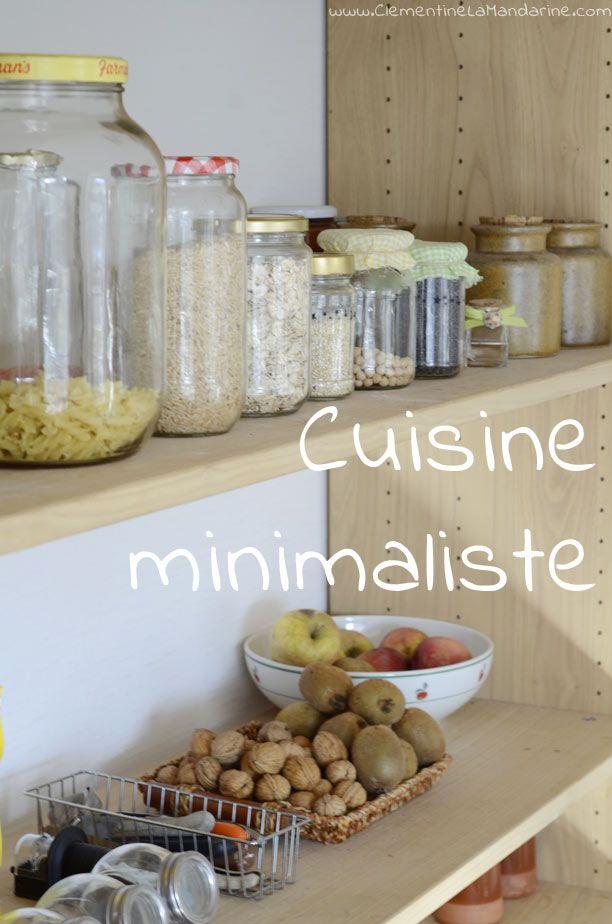Cuisine minimaliste et fonctionnelle