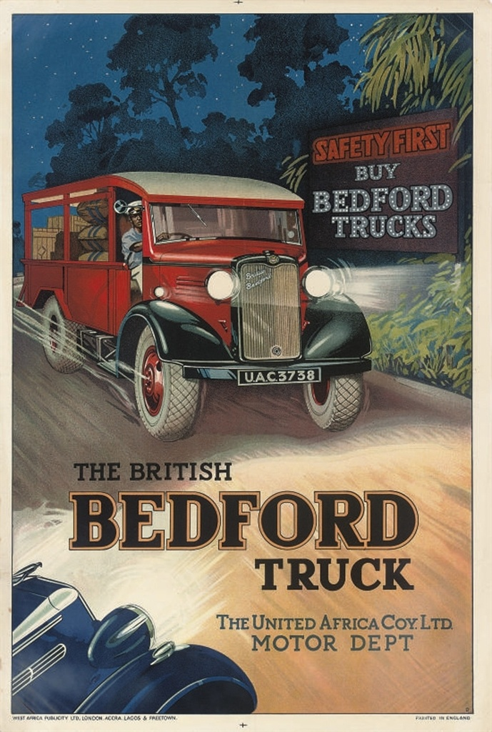 THE BRITISH BEDFORD TRUCK | Bedford truck, Car advertising ...