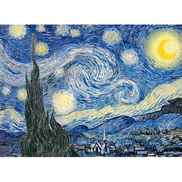 Van Gogh; Starry Night 1000 pieces *COMPLETED*