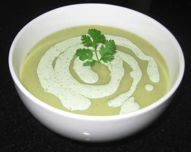 Best Beauty Tips For Teens - Chilled Leek and Avocado Soup - The Best Products And DIY Make Up Ideas For Losing Weight And Using Eye Makeup For Looking Cute When You Go Back To School. Makeup Ideas Beauty Tips Every Teen Should Know. Beauty Tips For A Faster Morning Routine And Homemade DIY Beauty Tips And Tricks For Teenage Girls. Some Beauty Tips For Face And Glowing Skin And Simple Beauty Tips To Fight Acne And Prevent Breakouts And Blackheads. Get Rid Of Pimples And Acne Scars. Teenage…