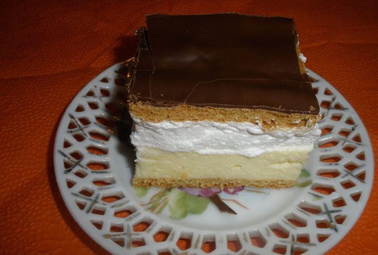 Szlovák mézes krémes – Azt hiszem, kijelenthetem, ez a kedvenc süteményem!