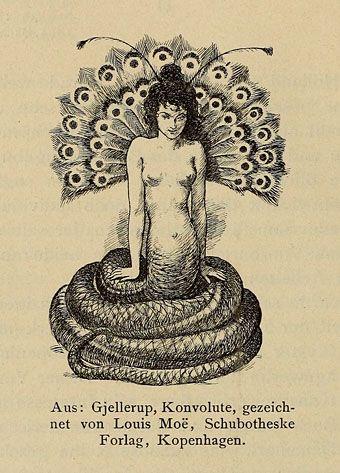 Smithsonian collection. Die Entwicklung der modernen Buchkunst in Deutschland (1901) is a compendium of German book illustration edited by Otto Grautoff,