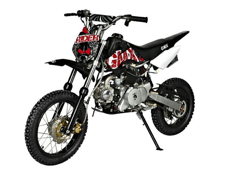 GMX Rider Black 70cc Dirt Bike