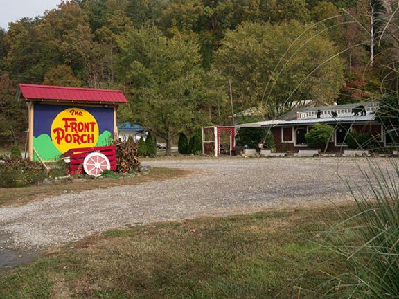 Front Porch Restaurant - Off the Beaten Path in Tennessee's Smoky Mountains
