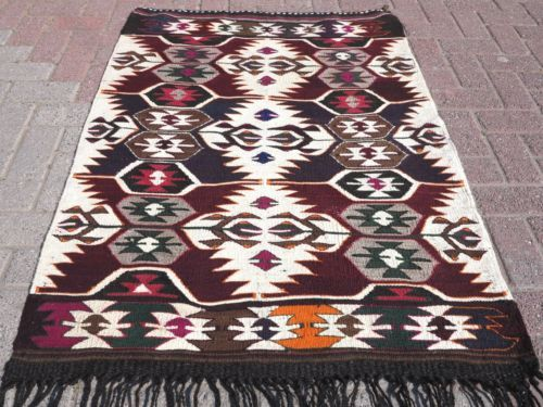 Vintage-Turkish-Kilim-Rug-Small-Area-Rugs-3X5-Rug-Bedroom-Rug-36-6-034-X51-5-034-Carpet