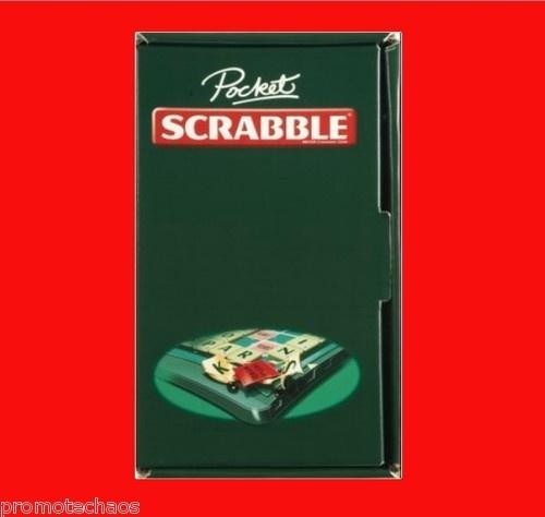 POCKET SCRABBLE UK MADE VERSION Magnetic Board Game Mattel *Import travel sealed | eBay FREE U.S. SHIPPING!!!
