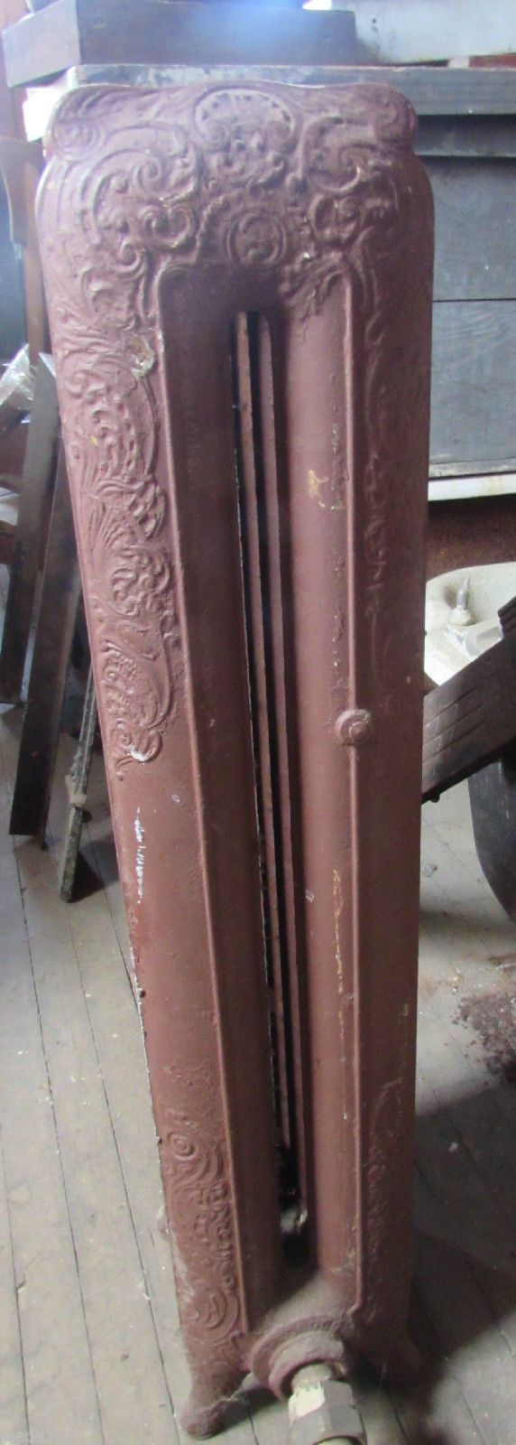 nice American Victorian Cast Iron Steam Radiator Home Architectural Salvage Four Fin   Check more at http://harmonisproduction.com/american-victorian-cast-iron-steam-radiator-home-architectural-salvage-four-fin/