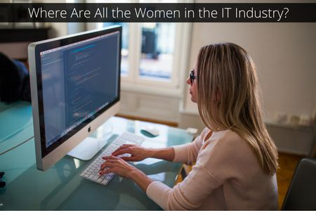 Recent studies have proved that a mere 30% of the tech industry is made up of women – which includes anyone working in marketing and HR.