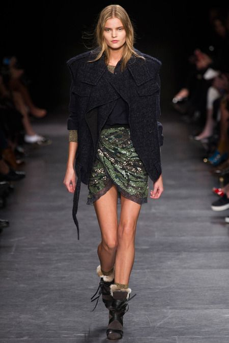 Kate Grigoreva for Isabel Marant | Fall 2014 Ready-to-Wear Collection | Style.com