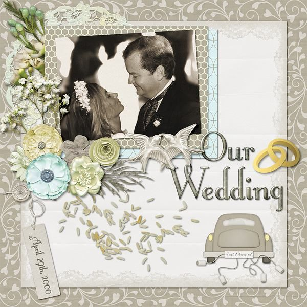 Wedding Scrapbook Kit: 17 Best Images About {Wedding Bells} Digital Scrapbook Kit