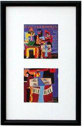"""CD Cover-Art Frame 10""""x16"""" Model CD34"""