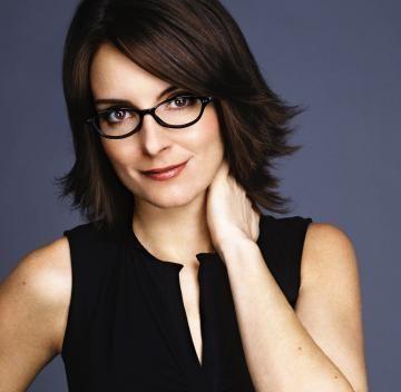 Tina Fey and glasses