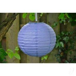 Lampion - Indigo paars (25, 30 & 40 cm)