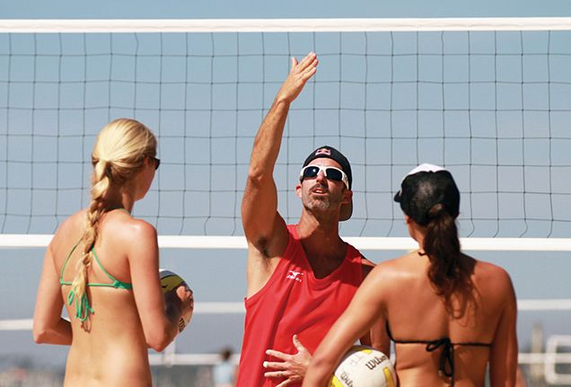Play Beach Volleyball With a U.S. Olympian  | In Todd Rogers' 19 years as a professional volleyball player, he's acquired an Olympic gold medal and a number of other accolades.
