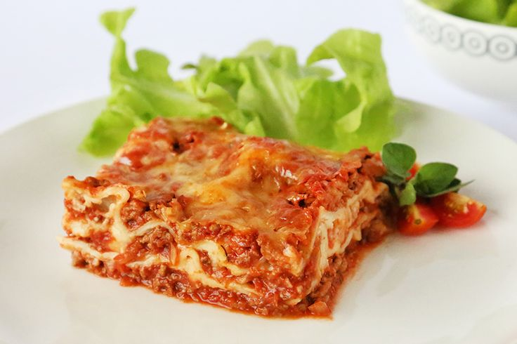 A deliciously low fat homestyle Lasagne recipe. All the taste without the added calories and fats of a traditional version.