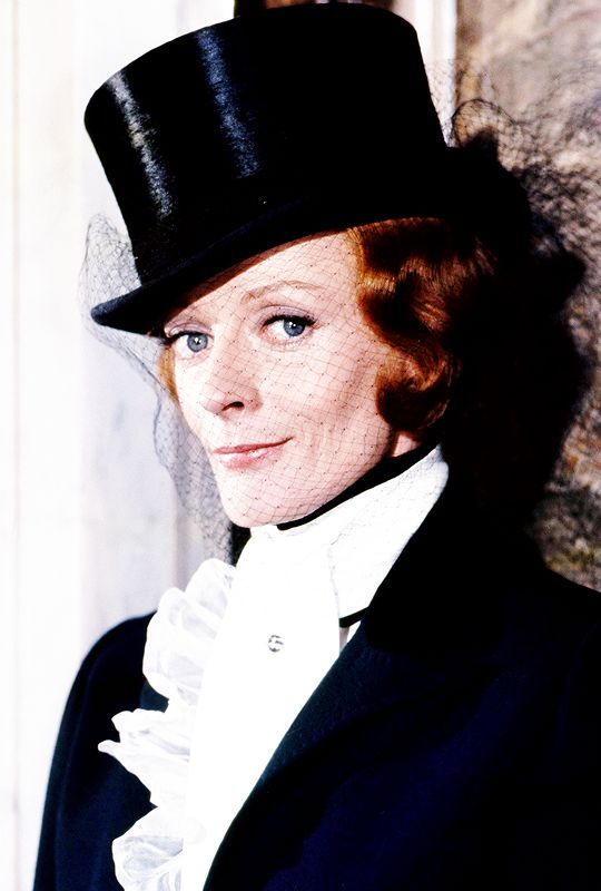 """Maggie Smith, """"Travels With My Aunt"""", 1972."""