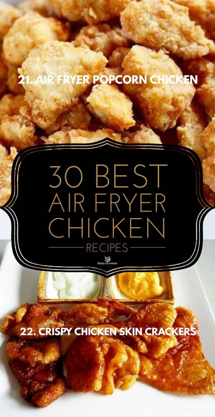 Air Fryer Popcorn Chicken in 2020 Popcorn chicken, Air