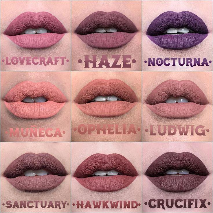 Kat Von D - Liquid Lipsticks