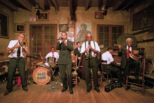 Preservation Hall -- best spot in teh French Quarter for live jazz