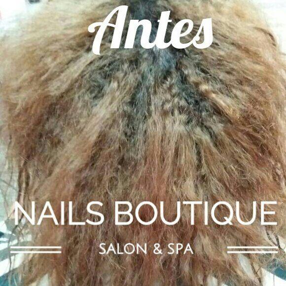 """""""Alisado Brasileño (Libre de formol, Sin sal y Sinn sulfatos) Alisa y reduce el volumen de tu cabello hasta por 3 meses es ideal para todo tipo de cabellos🙋Te esperamos desde las 10am hasta las 8pm 👉 Dirección: Urb. El Crisol, Calle Principal, Casa 18,  @nailsboutiquepa  Puedes contactarnos al 66199739 o 2964220 Buscanos🔍en Google Maps, Uber o Waze como: 📌Nails Boutique Panamá Salon & SPA🙌 #Nails #Lashes #Brows #Pedicure #Manicure #UñasAcrilicas #Blowers #Peinados #Maquillaje…"""