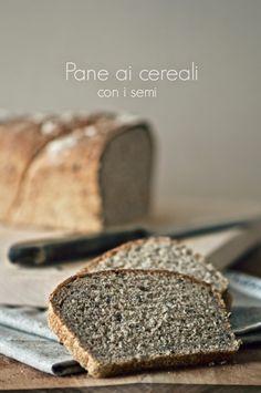 la pancia del lupo: Pane ai cereali con i semi