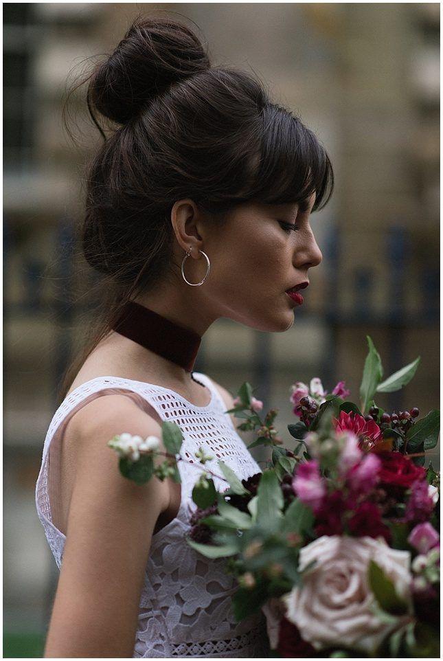 AMM HAIR AND MAKEUP TEAM / NIKKI LEADBETTER PHOTOGRAPHY / FLORAL MENAGERIE / alternative bride wedding inspiration scotland The Wedding Collective