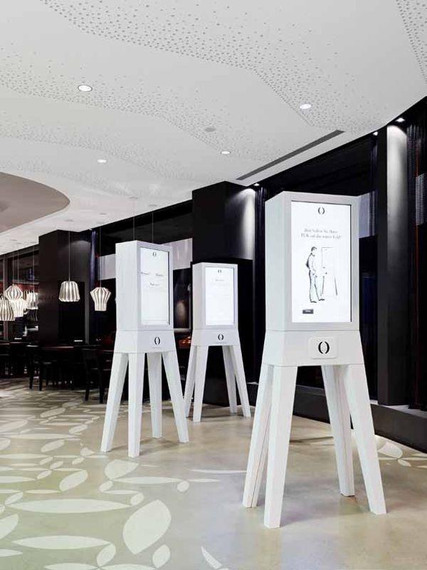 La experiencia tecnológica del nuevo restaurante Holyfields en Berlín, de Ippolito Fleitz Group. | diariodesign.com