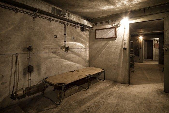 Un bunker sous la gare de l'Est!