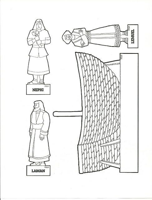 coloring pages nephi liahona - photo#22