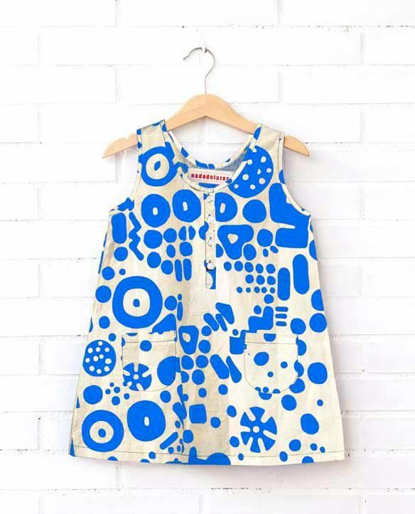 Nadadelazos - Printed A-line dress - Dresses - Gorgeous Girls