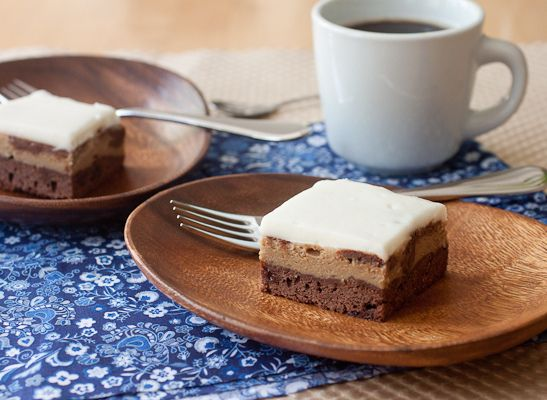 Espresso Cheesecake Brownies by Smells Like Home, via Flickr