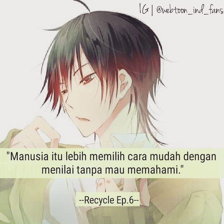 Ecycle More Quotes Dari Karakter Webtoon Wifcharaquotes
