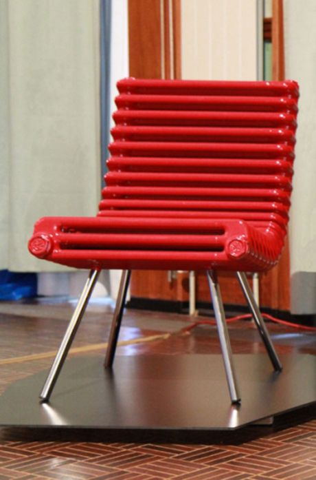 Radiator #Chair by Boris Dennler