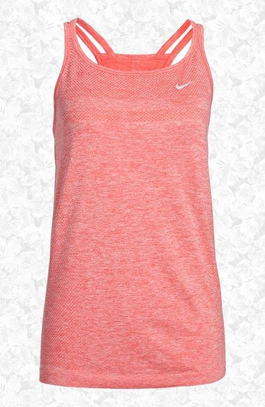 Nike Dri-FIT Knit Training Tank (Women) available at #Nordstrom