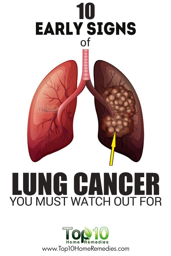 how to detect lung cancer symptoms
