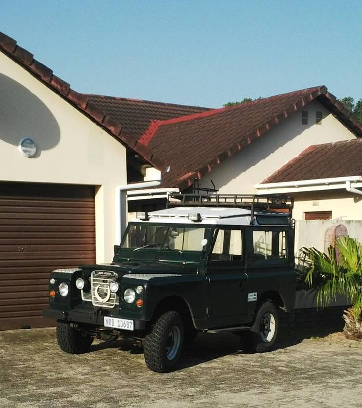 "Dave van der Linde's Series 2a 88"" from Richards Bay in South Africa. My Land Rover has a Soul, MLRHAS, Land Rover Book"