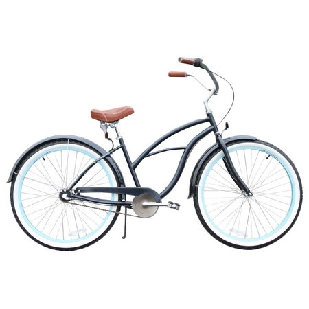 Classic Cruiser Bicycle in Black #productdesign #industrialdesign #bicycle