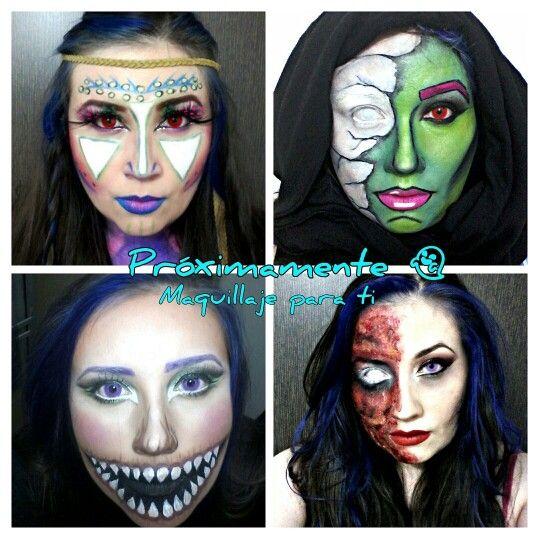 #Maquillaje #makeup #halloween #monster