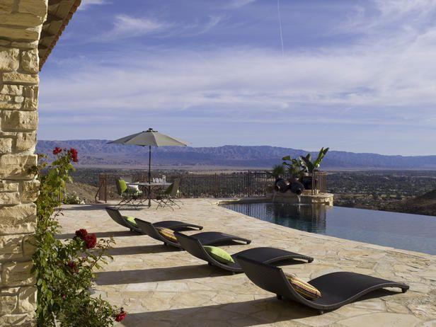 Mountain Views - Stunning Infinity Edge Swimming Pools on HGTV