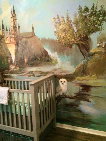 Harry comemora 35 anos hoje. A escritora J. K. Rowling completa 50. Veja quartos inspirados no mundo mágico da saga