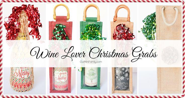 a DIY Wine Lover Christmas Gift