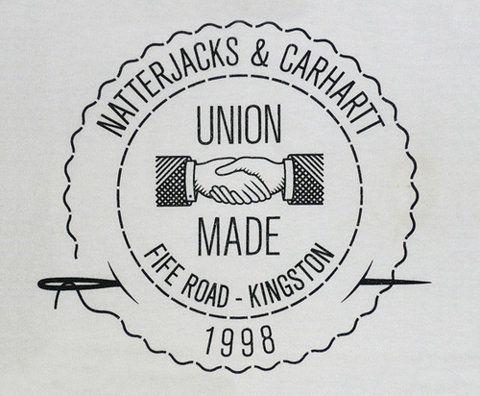 union made. logo / identity