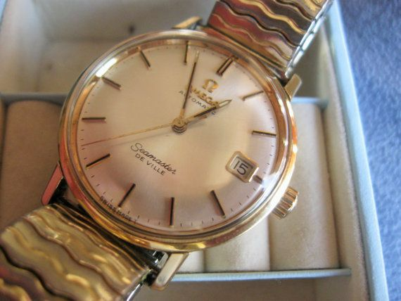 1960's Omega Seamaster Deville Automatic 17 by HeritageHouse7