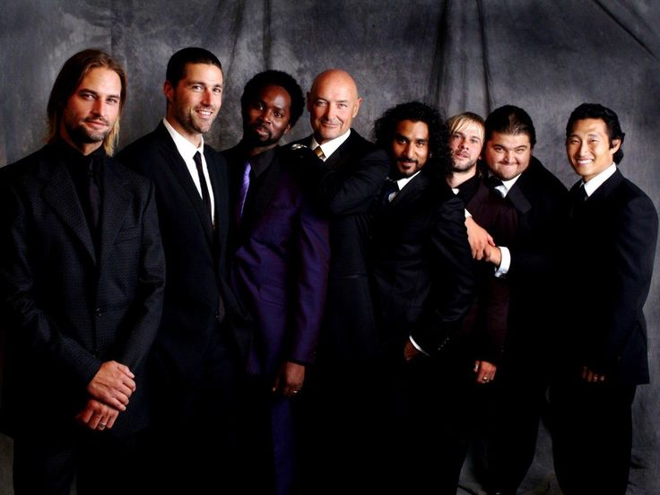 The Men of Lost  Sawyer, Jack, Michael, Locke, Sayid, Charlie, Hurley and Jin. Best Male Cast EEEVVVEEERRRR!!!!!!!!  <3