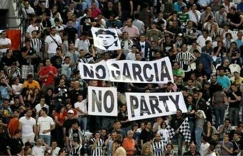No Garcia no party #PAOK ΠΑΟΚ