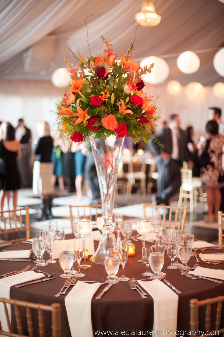 Floral centerpiece - Piedmont Garden Tent Reception & 91 best Piedmont Garden Tent images on Pinterest | Tent Tents and ...