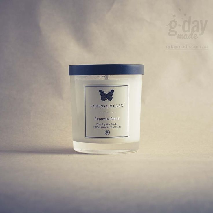 Scented with 100% natural essential oils including Ylang Ylang, Patchouli, Lavender and Geranium, the Vanessa Megan Essential Blend Soy Wax Candle will add instant calm to your home leaving you feeling relaxed and balanced.