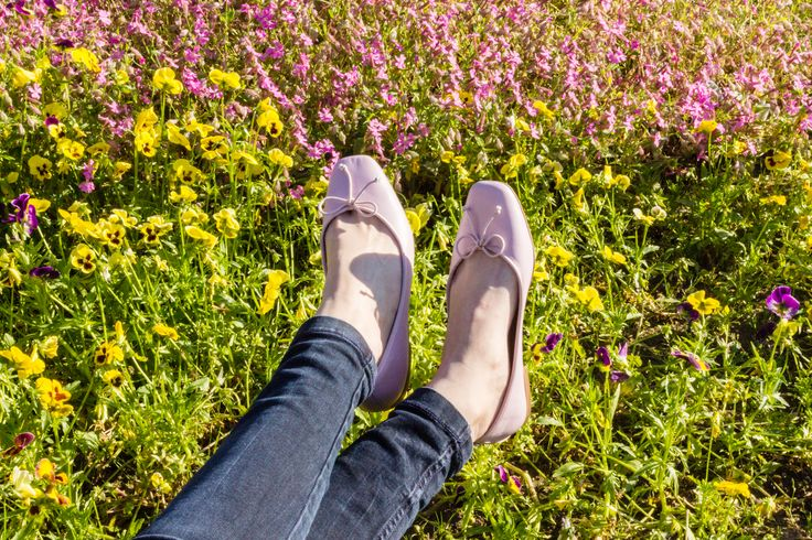 Spring time with ballet flats Josefinas Pink Power. #JosefinasPortugal